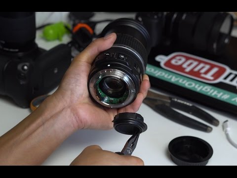 How To MOD Canon EFS Lens To Fit Full Frame/Speedbooster/Sony/Panasonic!