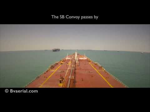 The New Suez Canal Timelapse - Full Transit