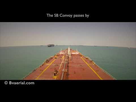 The New Suez Canal Timelapse - Full Transit