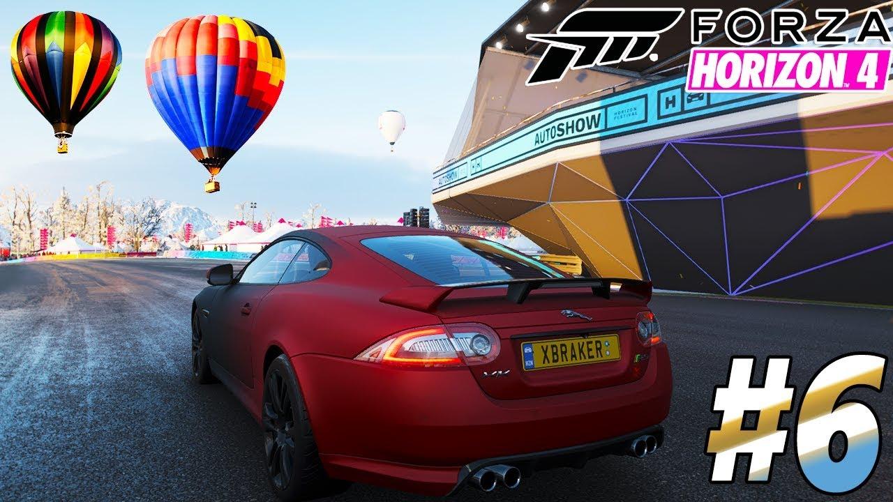 Forza Horizon 4 - New Car Jaguar XKR-S Unlocked - Gameplay PC Walkthrough #6