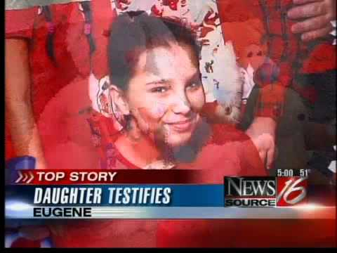 Daughter testifies in the case of Angela McAnulty KMTR  YouTube