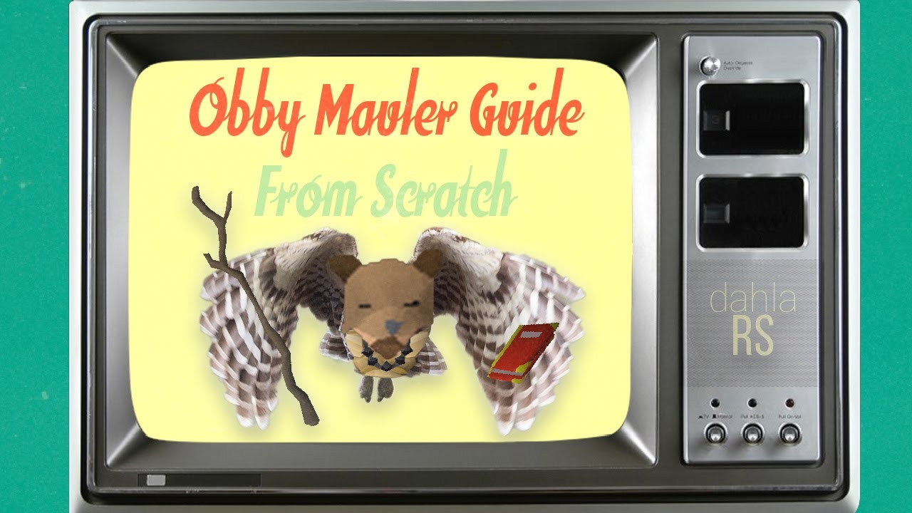 Obby mauler from scratch // osrs quick guide: 2007scape.