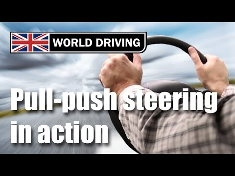 How To Steer A Car Correctly - Driving Lessons