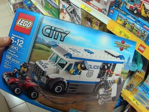 lego city brinquedos caminhão combate fogo patrulha road polícia