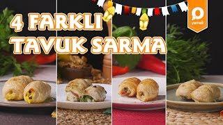 4 Farklı Fırında Tavuk Sarma Tarifi - Onedio Yemek - Tek Malzeme Çok Tarif