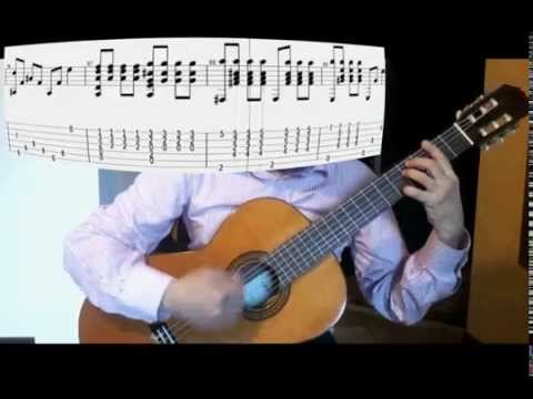 Titanic Guitar cover  with score (My Heart Will Go On)