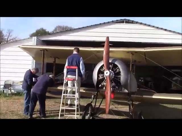 SOPWITH BABY'S NEW HOME