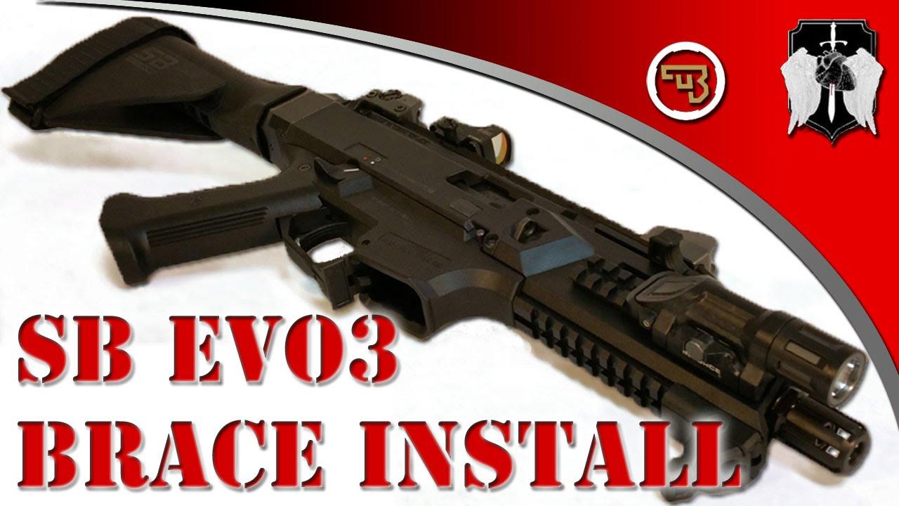 CZ Evo 3: Scorpion PSB Brace Install