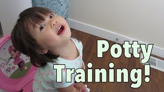 Potty Training! - August 02, 2014 - itsJudysLife Daily Vlog