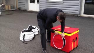 V-BOX - Kit de conversión Aspirante / Soplante para ventiladores LEADER
