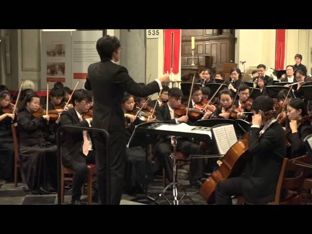 《中國第一交響序曲》(比利時專場音樂會)「香港青年愛樂樂團」