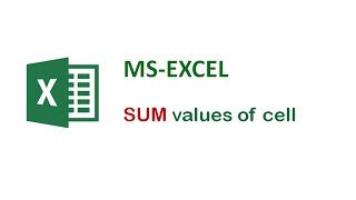Excel Tips and Tricks - How To SUM Values In Excel - Excel Formula