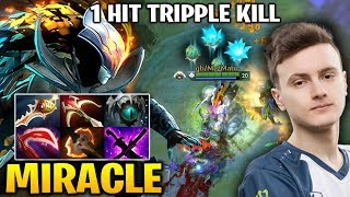 Miracle PA ONE HIT TRIPLE KILL - UNBELIEVABLE CRIT