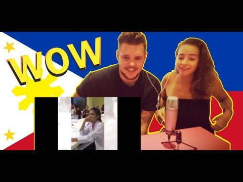 REACTING TO FILIPINO SINGERS THAT WENT VIRAL! ENGLISH IN THE PHILIPPINES VLOG REQUEST!
