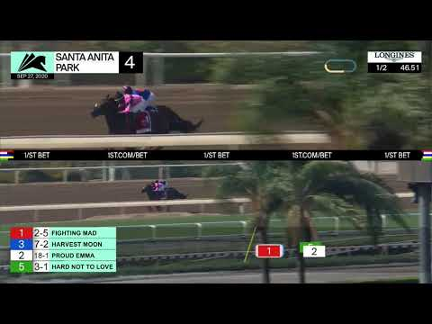 Santa Anita Park Carrera 4 (The Zenyatta Stakes Gr.2) - 27 De Septiembre 2020