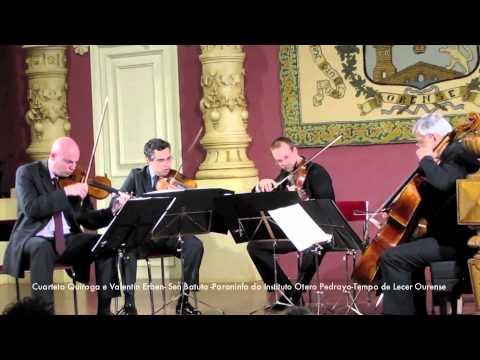 Cuarteto Quiroga e Valentin Erben - Sen Batuta - Paraninfo Otero Pedrayo - TdLOU