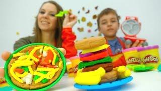 Новое видео Дети и Родители: Игры для детей Плей До (Play-Doh). Набор Пицца и Бургер Гриль!(Пластилин Плей До любят дети и их родители - с ним можно придумать много идей для творчества. Вот и Лена с..., 2016-10-28T15:56:50.000Z)