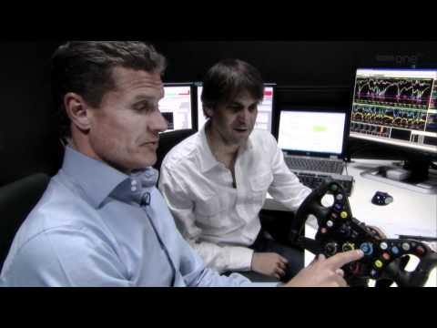 David Coulthard on Red Bull Simulator at Montecarlo