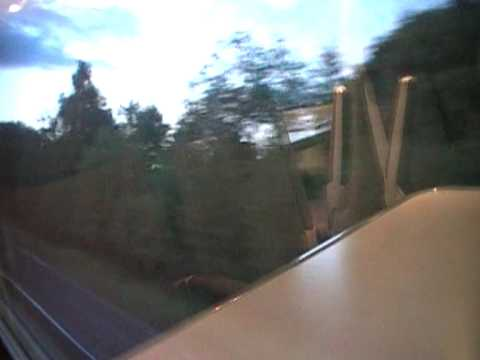 on board emt 222 video from chesterfield station to bradway
