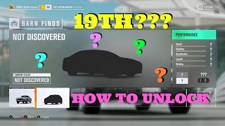 How to Unlock the 19th Barn Find - Glitch/Bug UPDATE!