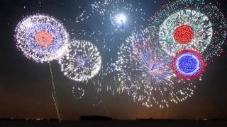 New Years 2013   Synchronized Epic Music Heart of Courage   FWSim Fireworks Display   HD   YouTube 7
