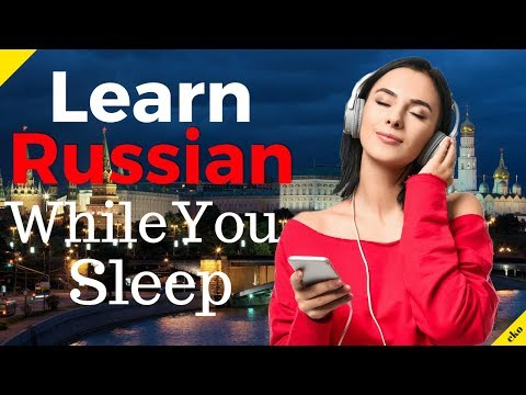 Learn Russian While You Sleep 😀 Most Important Russian Phrases And Words 😀 English/Russian (8 Hours)