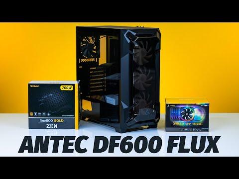 How to Build a PC - Giveaways + $2500 ANTEC DF600 FLUX Review - Ryzen 9 3900XT /2080 TI FE