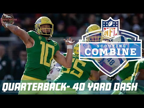 ALL QB 40 Yard Dash | NFL Combine 2020