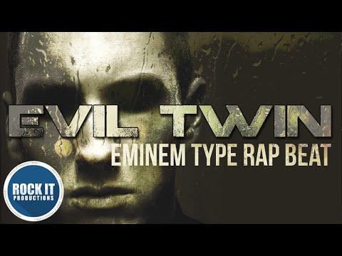 Eminem Type Beat | Dark Rap Instrumental - Evil Twin