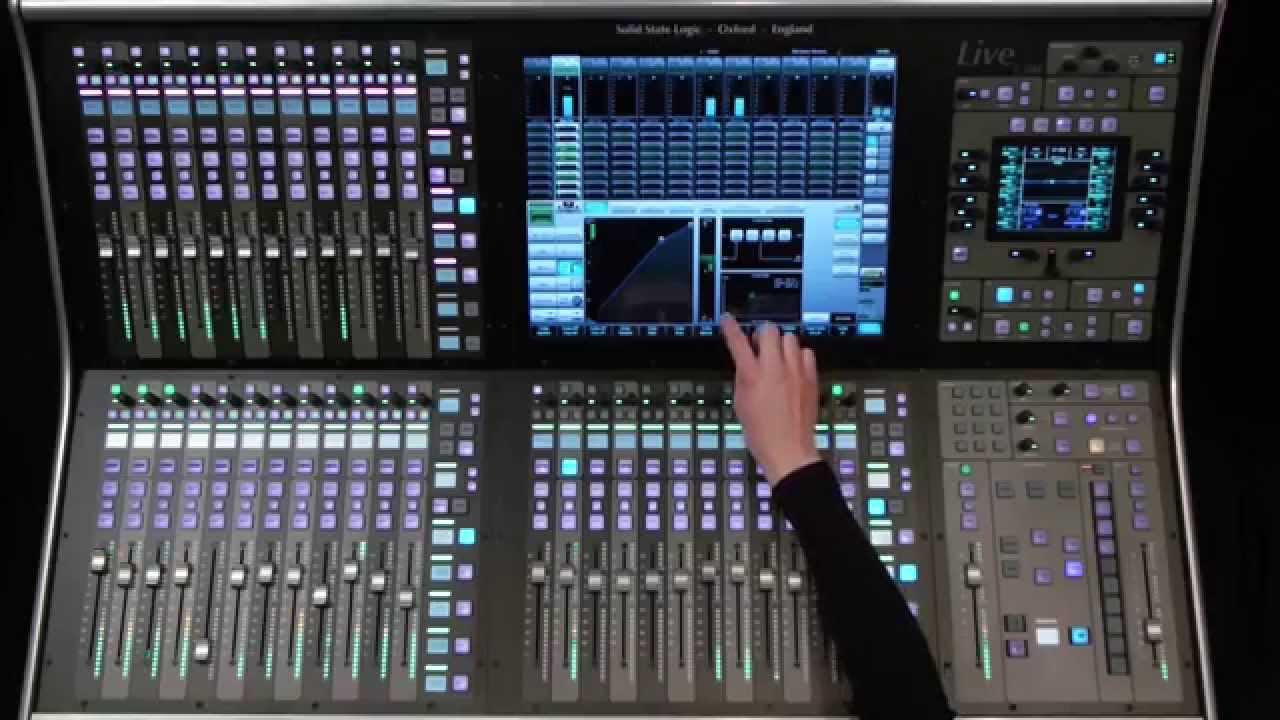 Ssl Live Console Overview Youtube