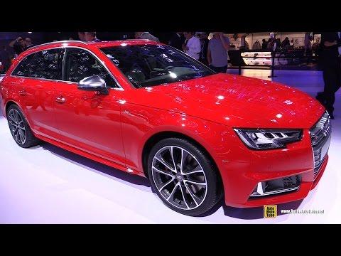 2017 Audi S4 Avant - Exterior and Interior Walkaround - 2016 Paris Motor Show