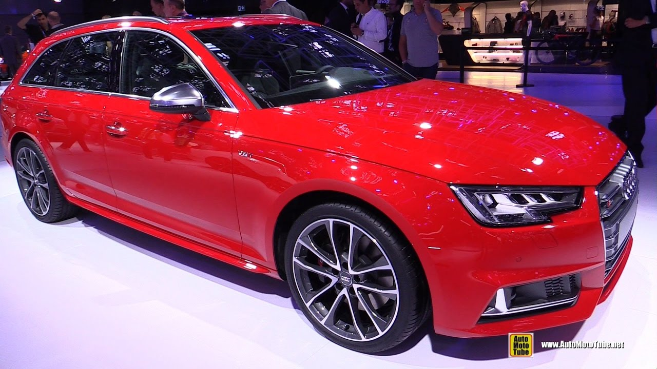 2017 audi s4 avant exterior and interior walkaround 2016 paris motor show youtube. Black Bedroom Furniture Sets. Home Design Ideas