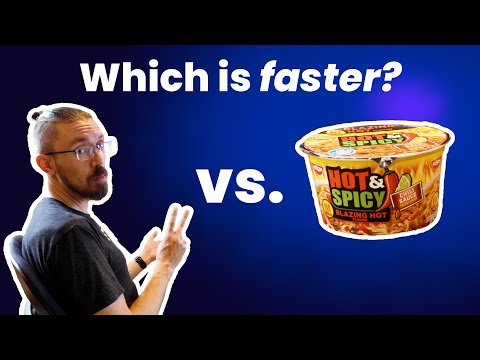 Race: Setting up CockroachCloud Free vs. cooking ramen!