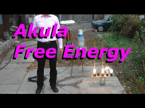 Free Energy Device - Akula 1 KWatt Unit - no fuel needed - just a ground cable
