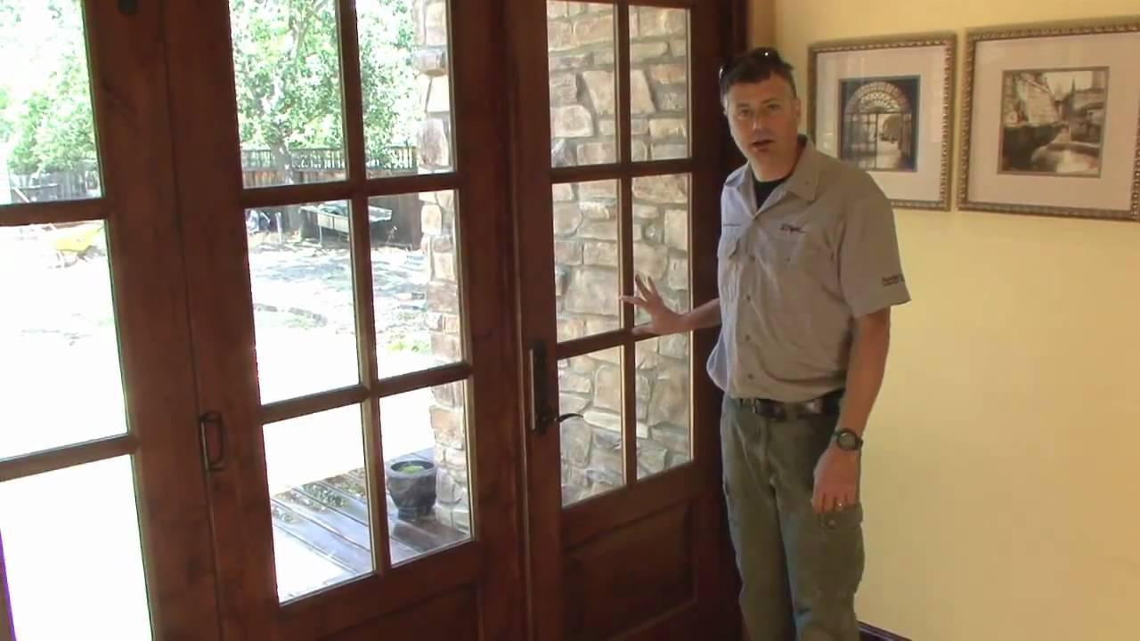 Slick Bi-Folding French Doors Demo - YouTube