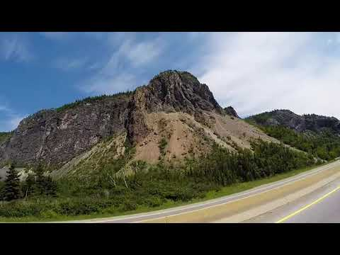 Riding To Deer Lake, Newfoundland