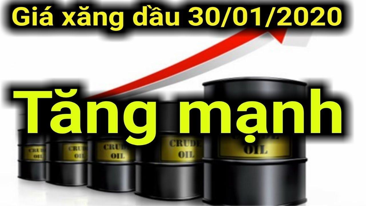 Giá xăng dầu hôm nay ngày 30 tháng 01 năm 2020 || giá xăng ngày 30/01