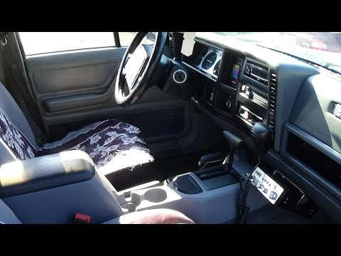1996 JEEP CHEROKEE XJ 97+ CENTER CONSOLE SWAP/ UPGRADE