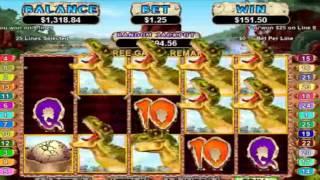 Video Review – T-REX ONLINE SLOTS at Casino Midas