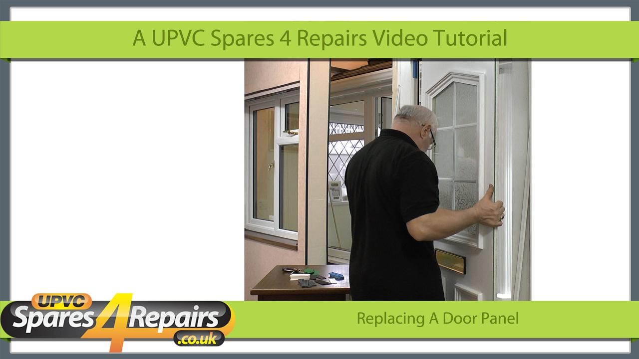 Replacing a upvc door panel youtube replacing a upvc door panel rubansaba