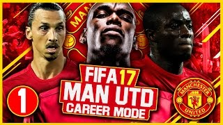 One of FootyManagerTV's most viewed videos: FIFA 17 Career Mode: Manchester United #1 - BIG MONEY, BIG EXPECTATIONS! (FIFA 17 Gameplay)