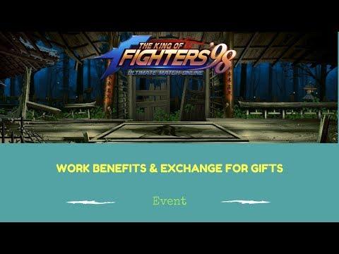 KOF98 UMOL English Work Benefits and Exchange for Gifts Events