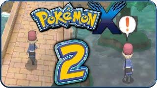 Let's Play Pokémon X Part 2: Aquarellia & der Vertan-ähh Nouvaria-Wald!