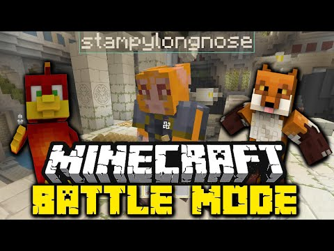 Minecraft Battle Mode - vs - W/ Special Guest Stampylongnose