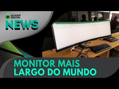 Samsung apresenta o monitor mais largo do planeta | OD News 09/06/2017