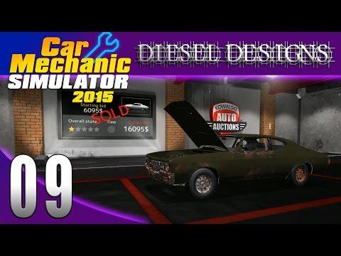 Car Mechanic Simulator 2015: Let's Play: EP09: Auction House & Restoration P.1! (60FPS)
