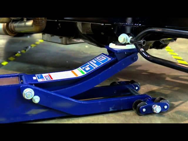 TCE Quad Trak 2 Ton Ultra Low Profile Garage Jack