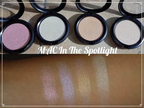 NEW MAC In The Spotlight Collection Extra Dimension Skinfinishes