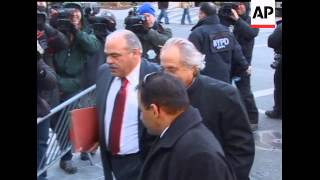 Bernard Madoff returned to court in a bulletproof vest Wednesday and won another round in his fight