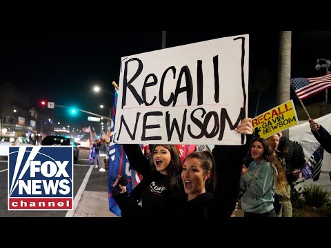 Furious Californians take to the street to protest lockdowns, 'The Five' reacts